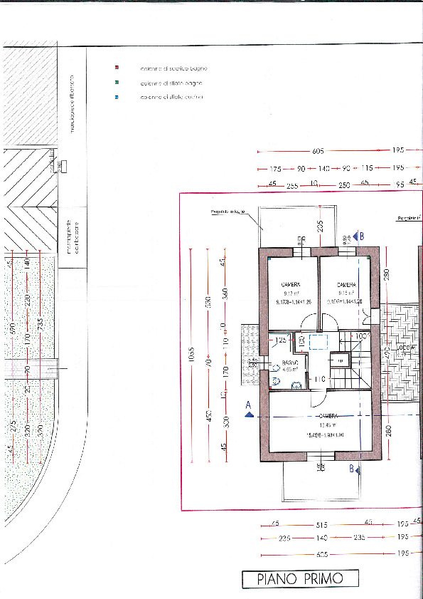 Planimetria 2/3 per rif. 7793/BD