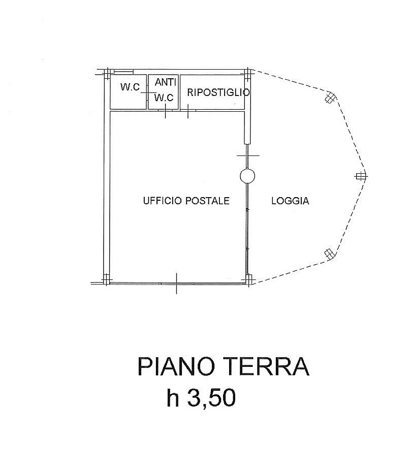 Planimetria 1/1 per rif. 7795/GD