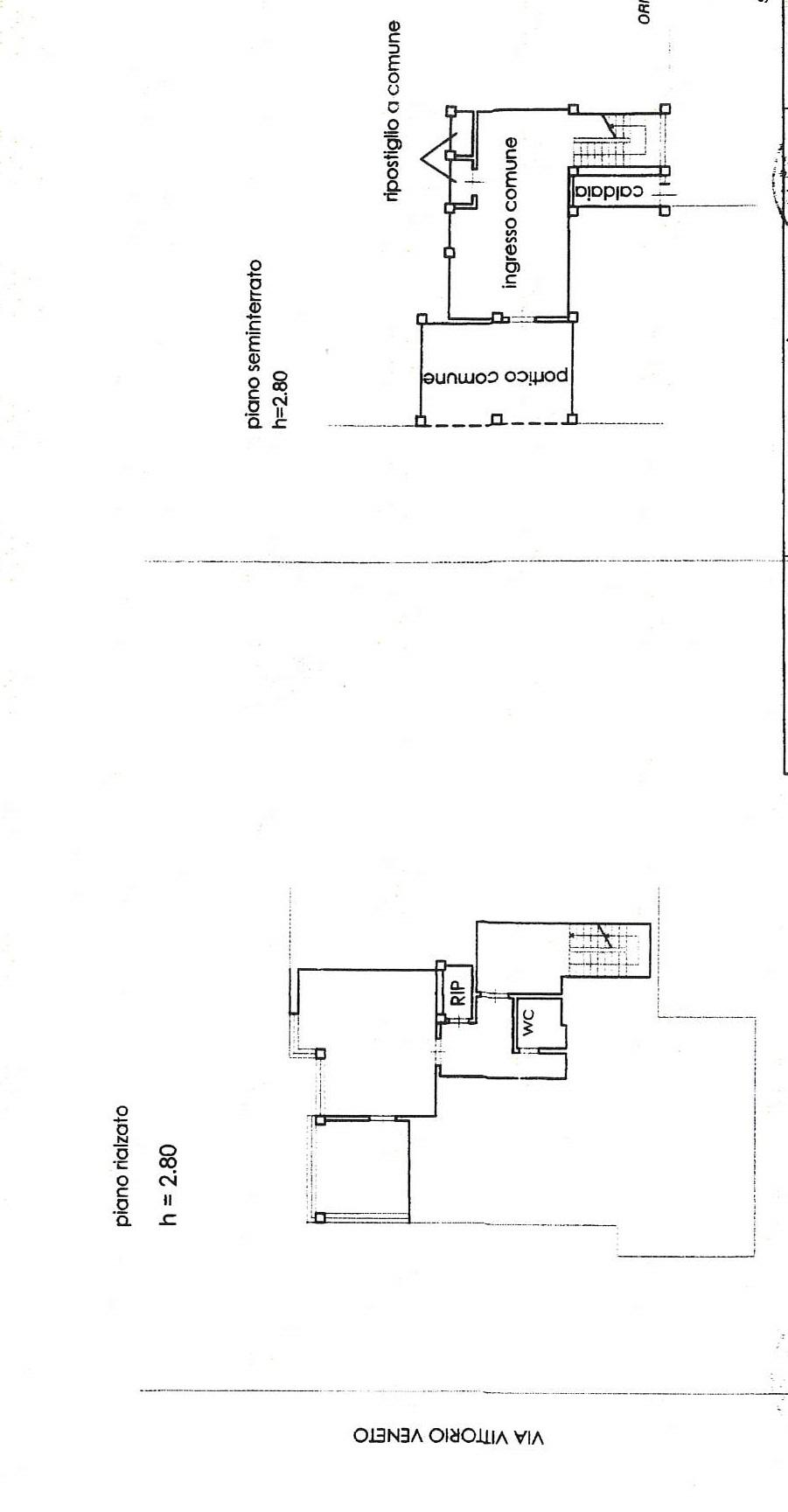 Planimetria 1/1 per rif. 7832/GD