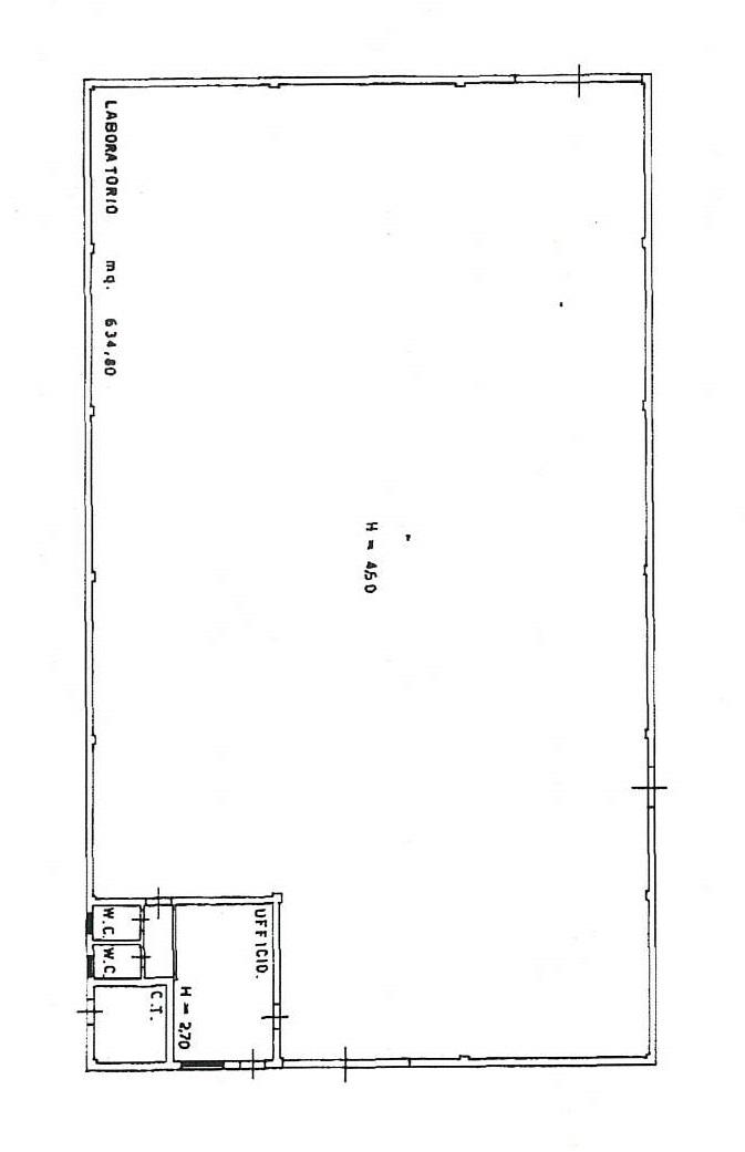 Planimetria 1/1 per rif. 7840/GD