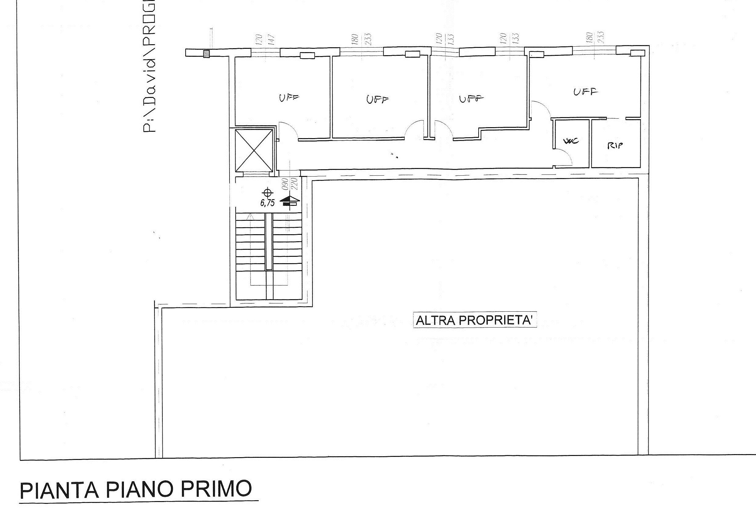 Planimetria 1/1 per rif. 7842/BD