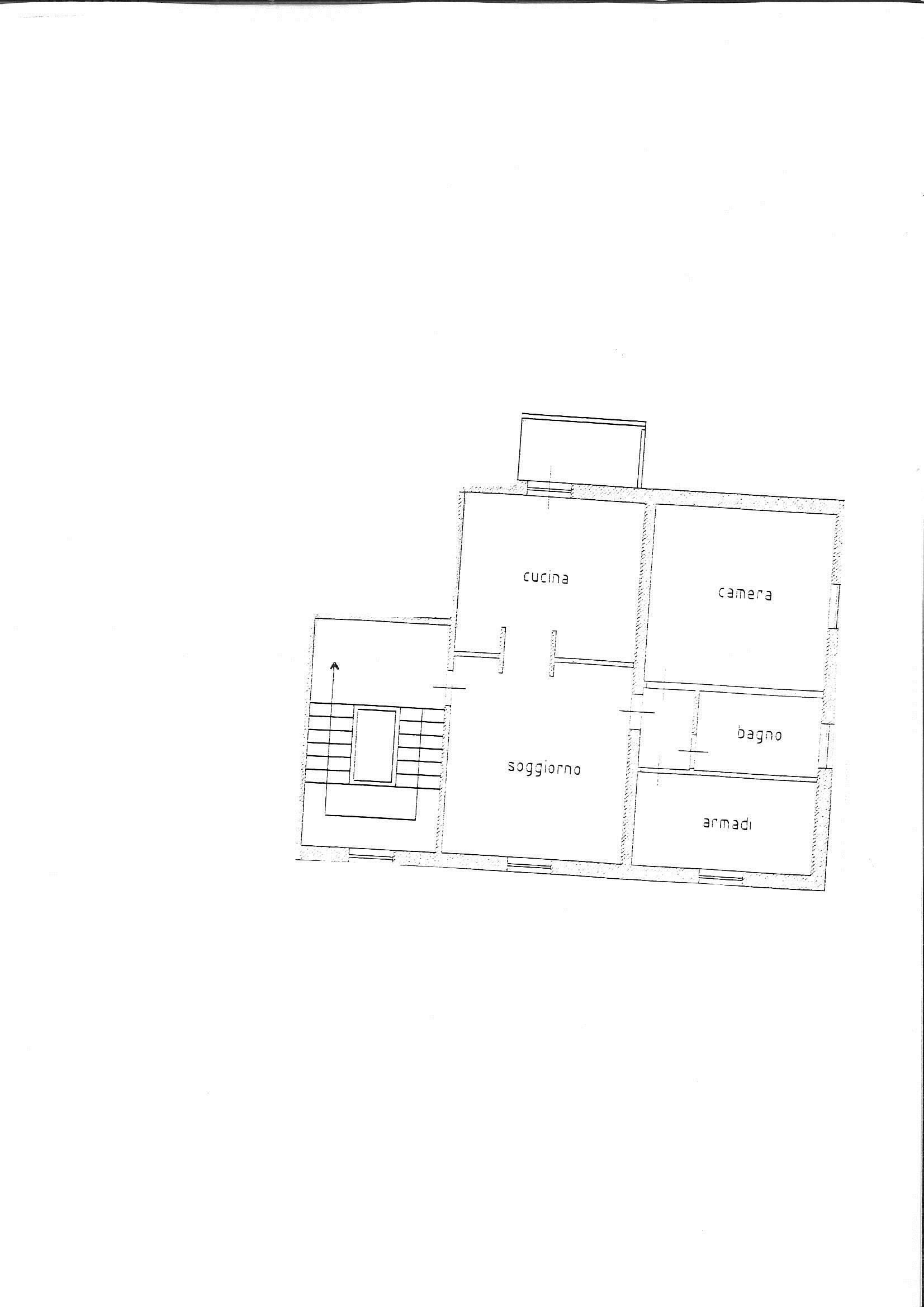 Planimetria 2/2 per rif. 7845/BD