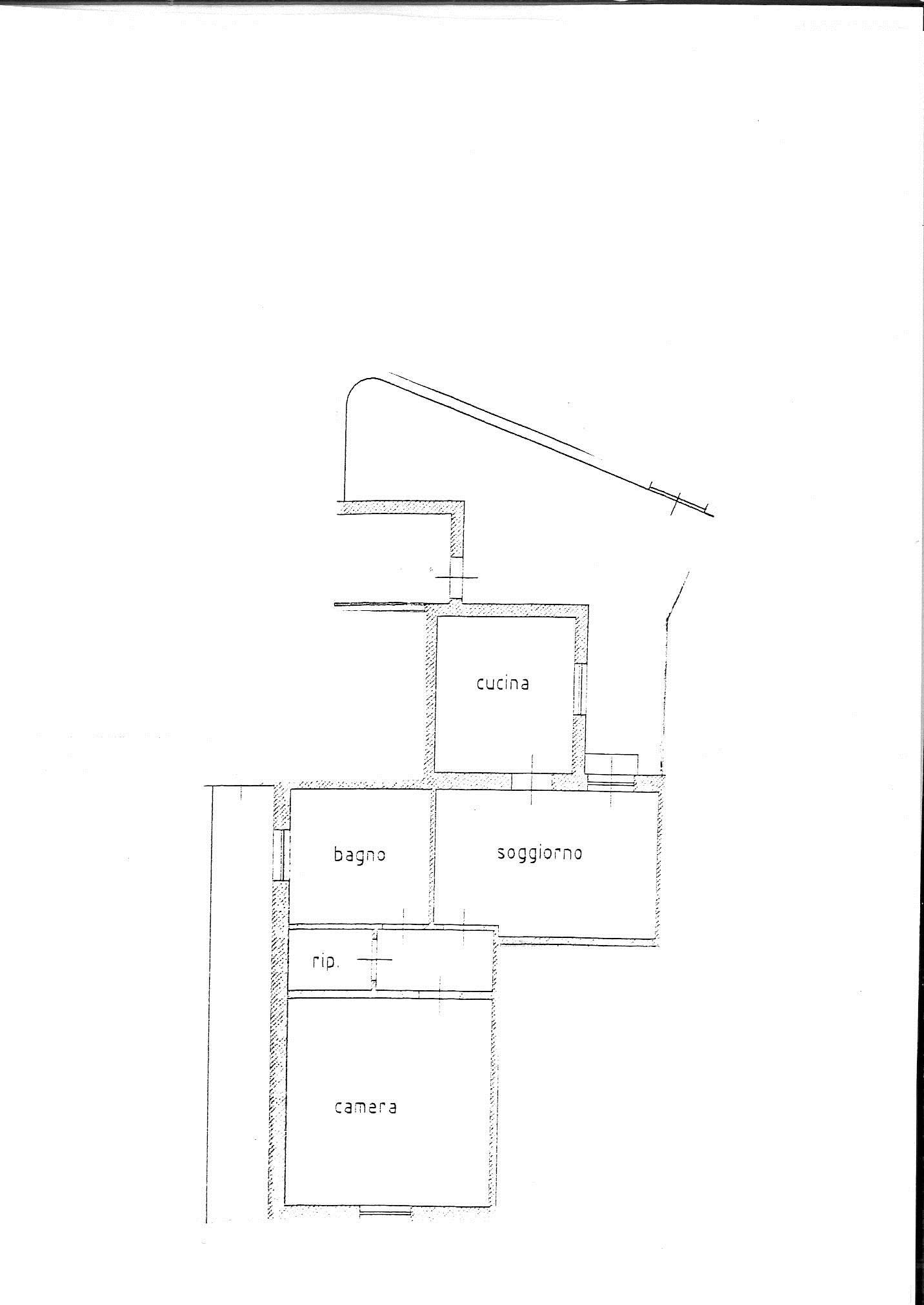 Planimetria 1/2 per rif. 7846/BD