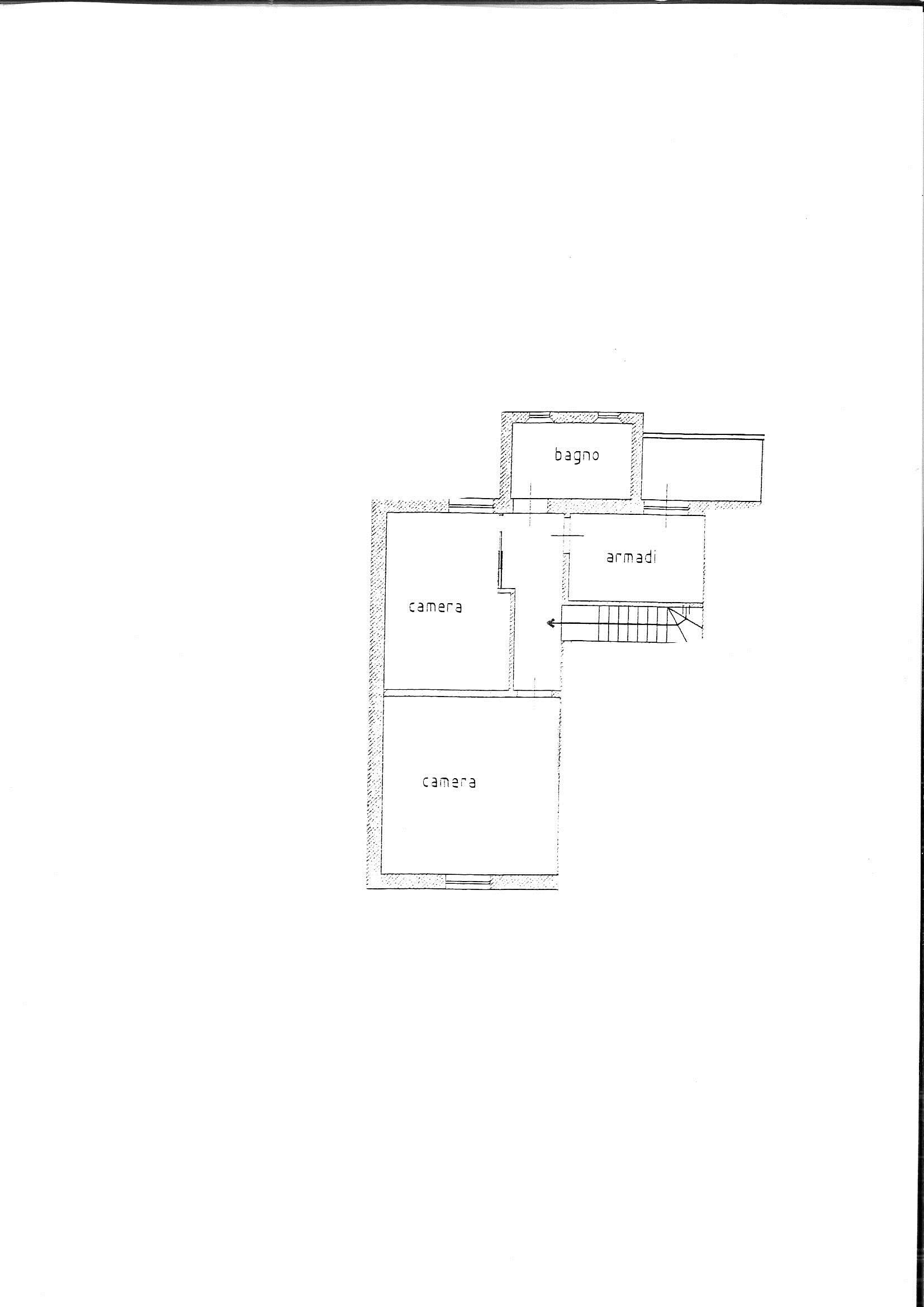 Planimetria 2/2 per rif. 7846/BD