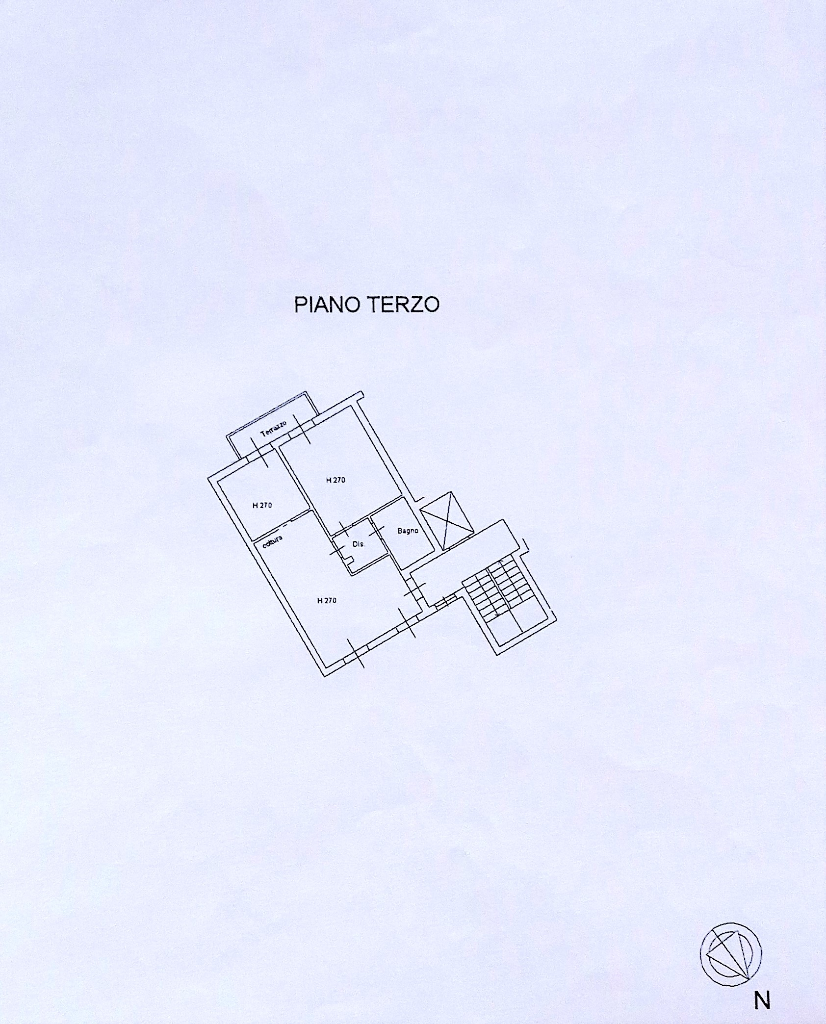 Planimetria 1/2 per rif. 7858DD