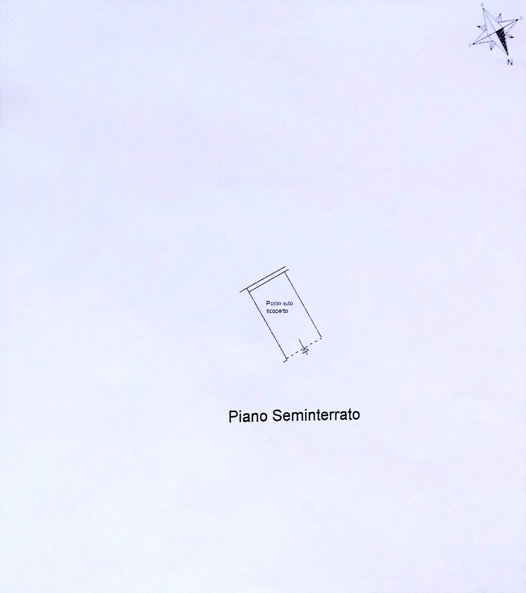 Planimetria 2/2 per rif. 7858DD