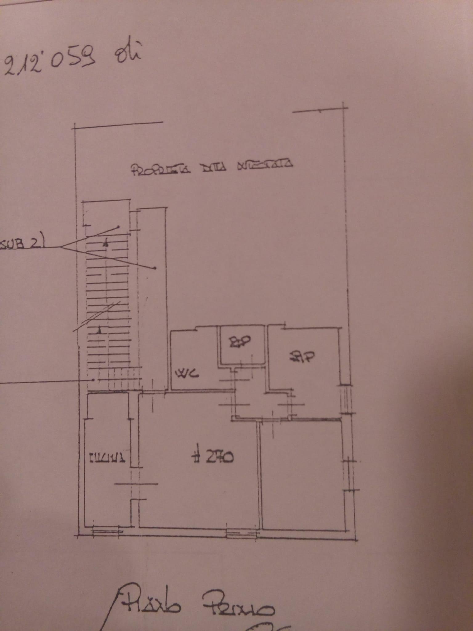 Planimetria 1/1 per rif. 7861DD