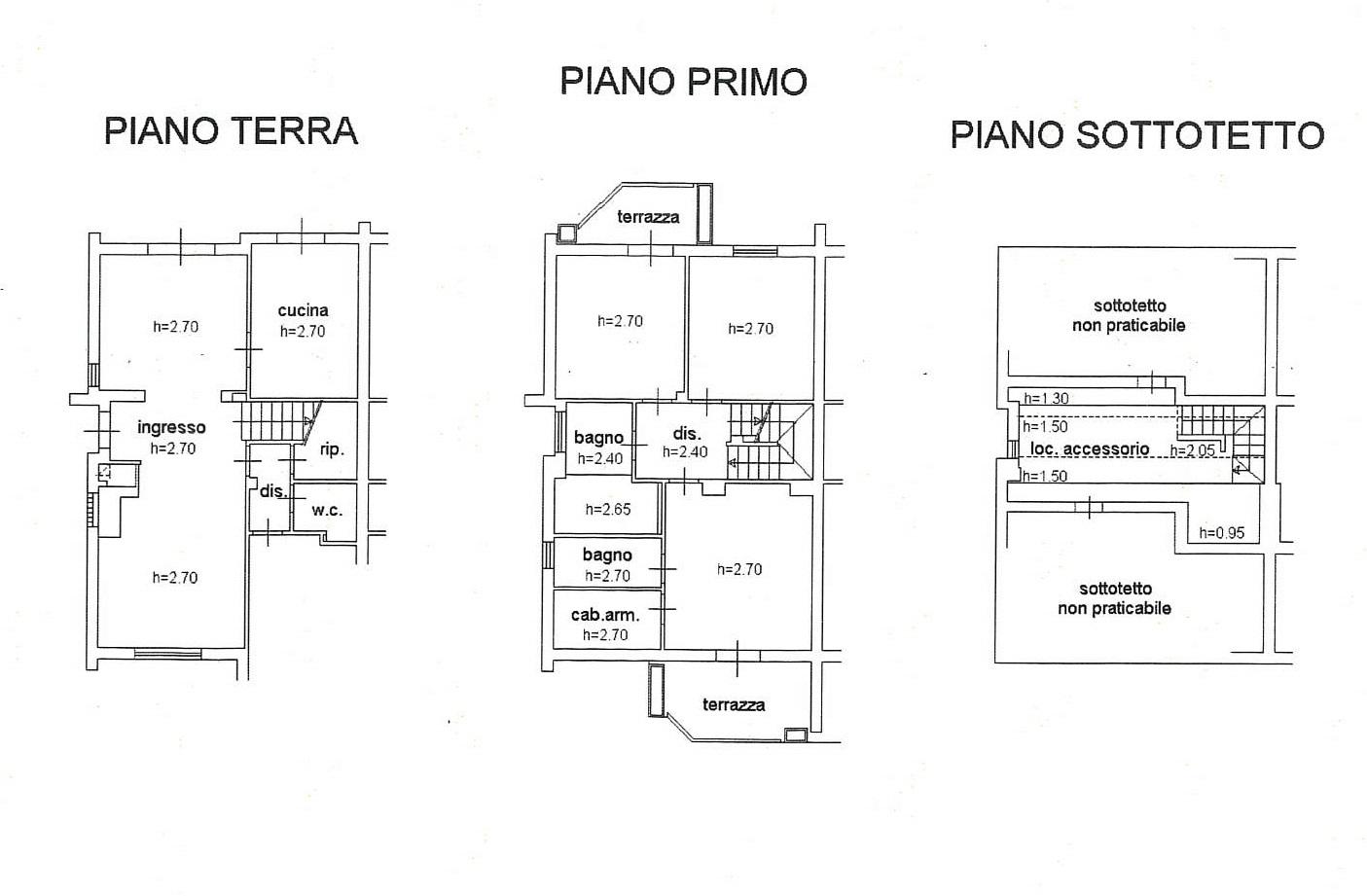 Planimetria 1/1 per rif. 7845GD