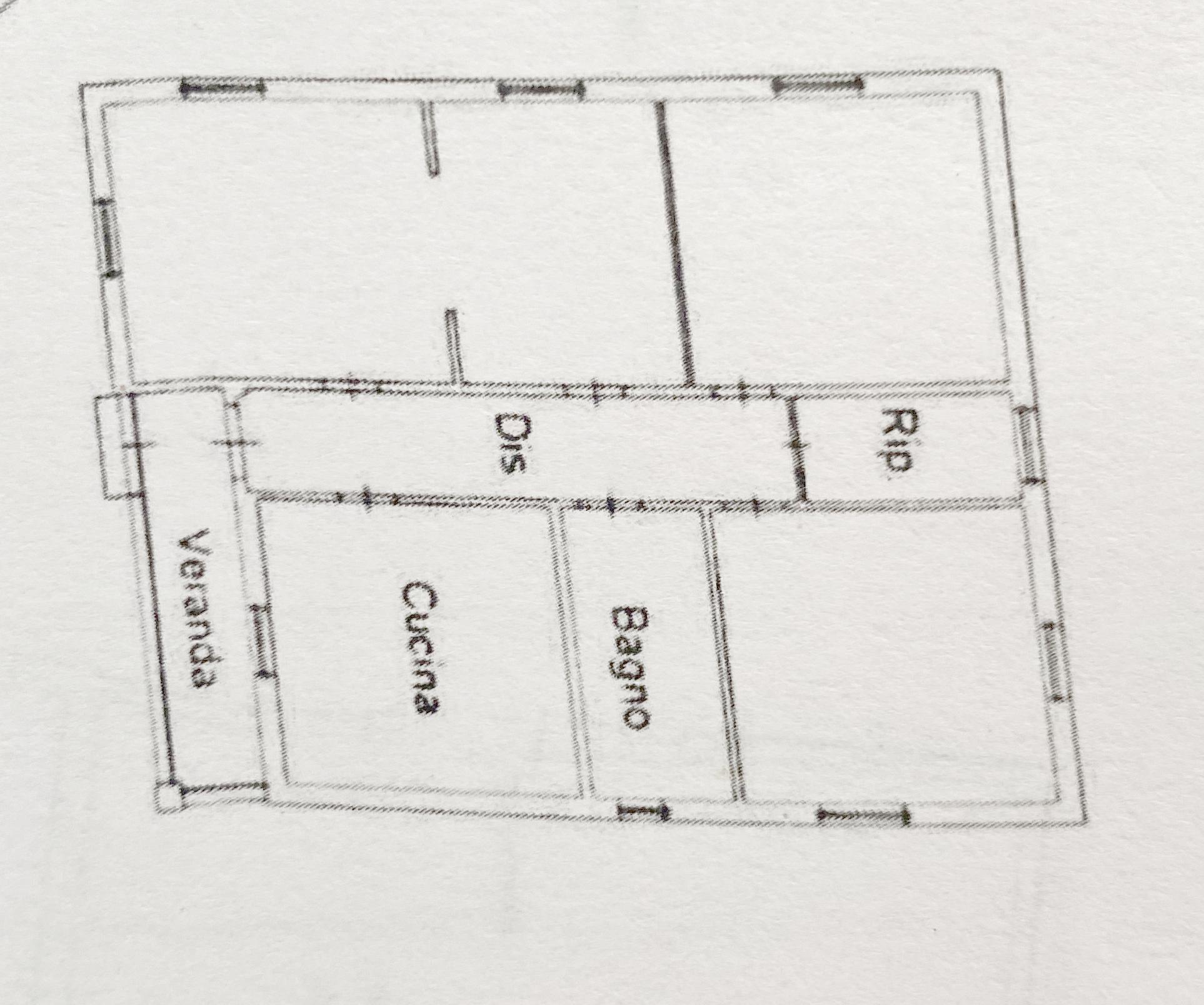 Planimetria 2/2 per rif. 1149D