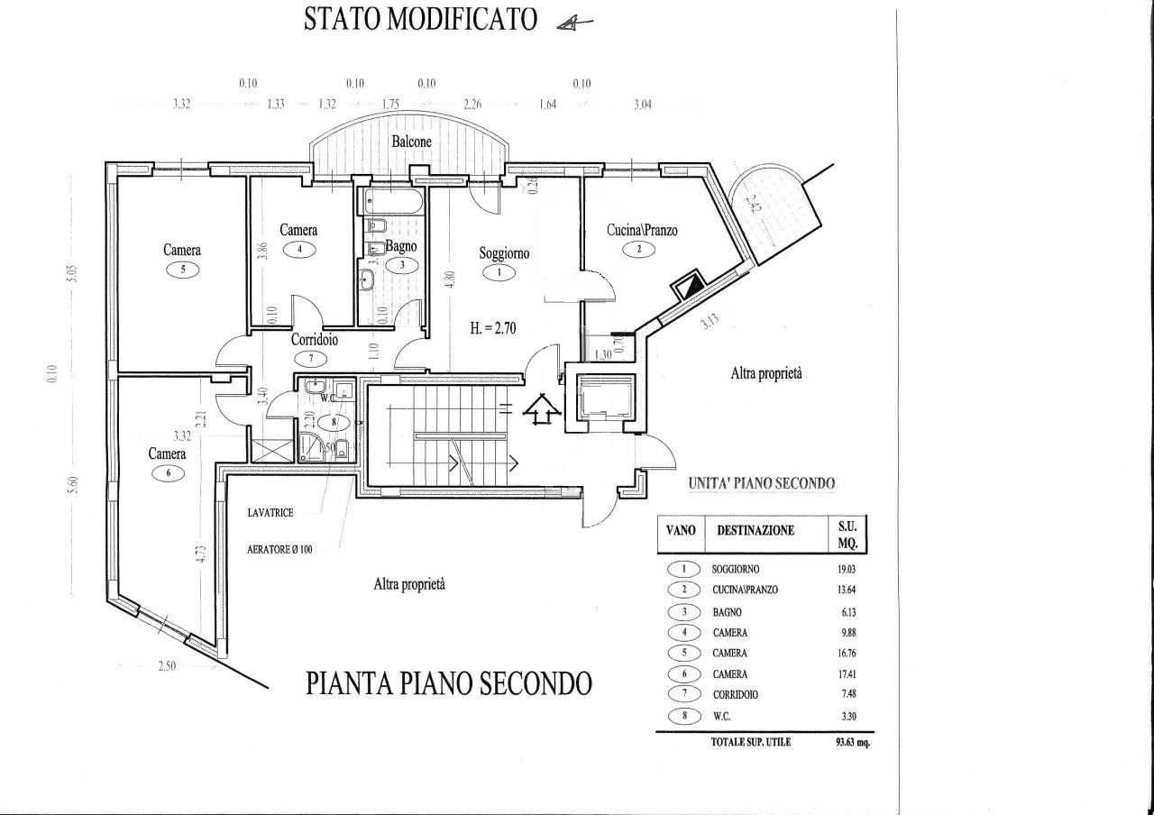 Planimetria 1/1 per rif. 1118D
