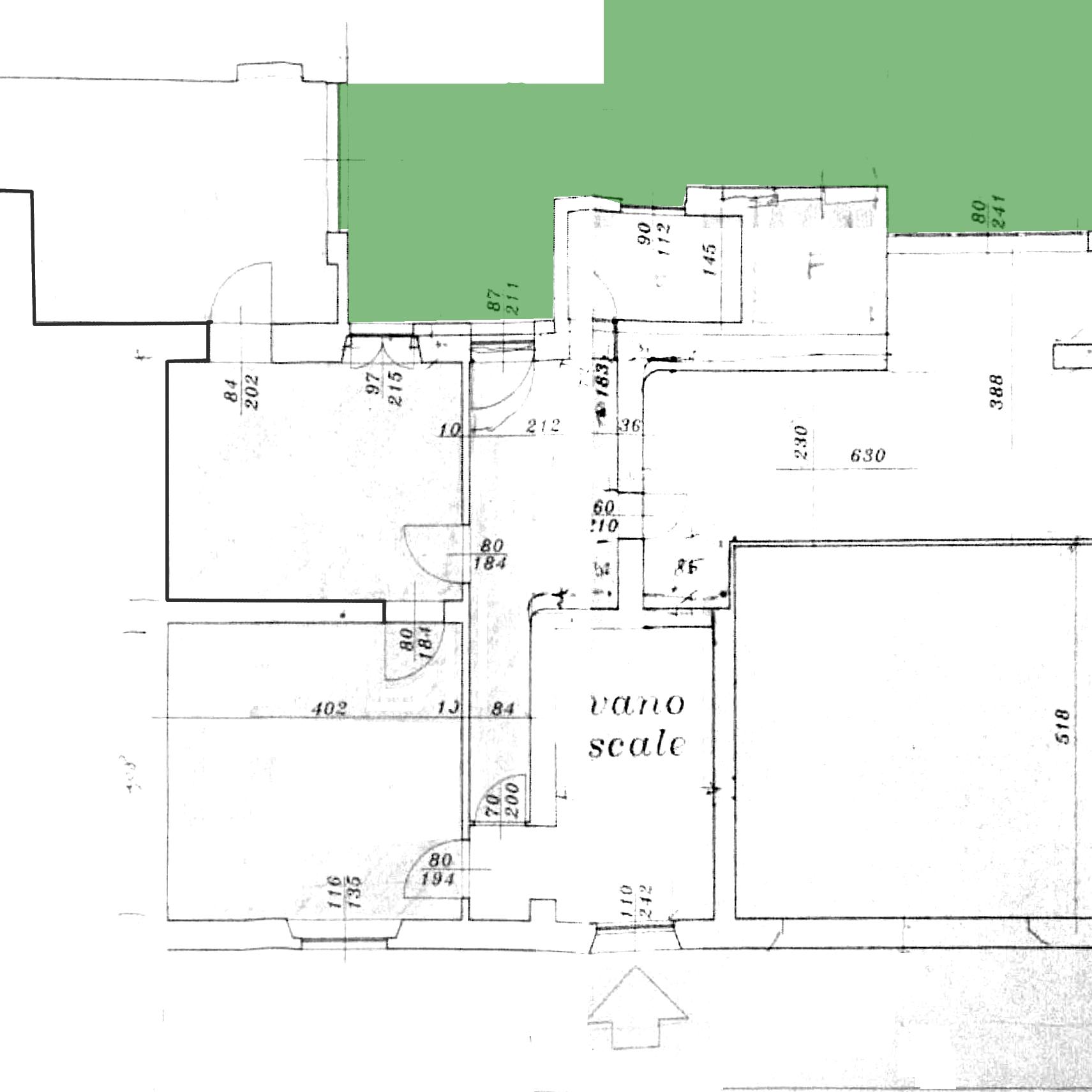 Planimetria 1/1 per rif. 1017C