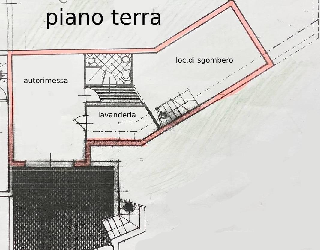 Planimetria 2/3 per rif. 1062D