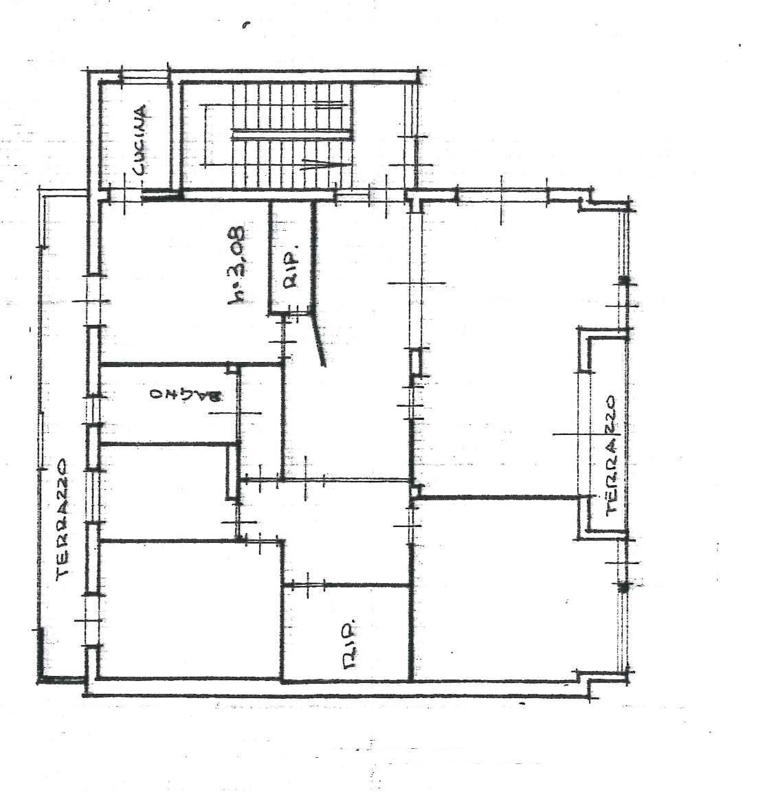 Planimetria 1/1 per rif. 1054D