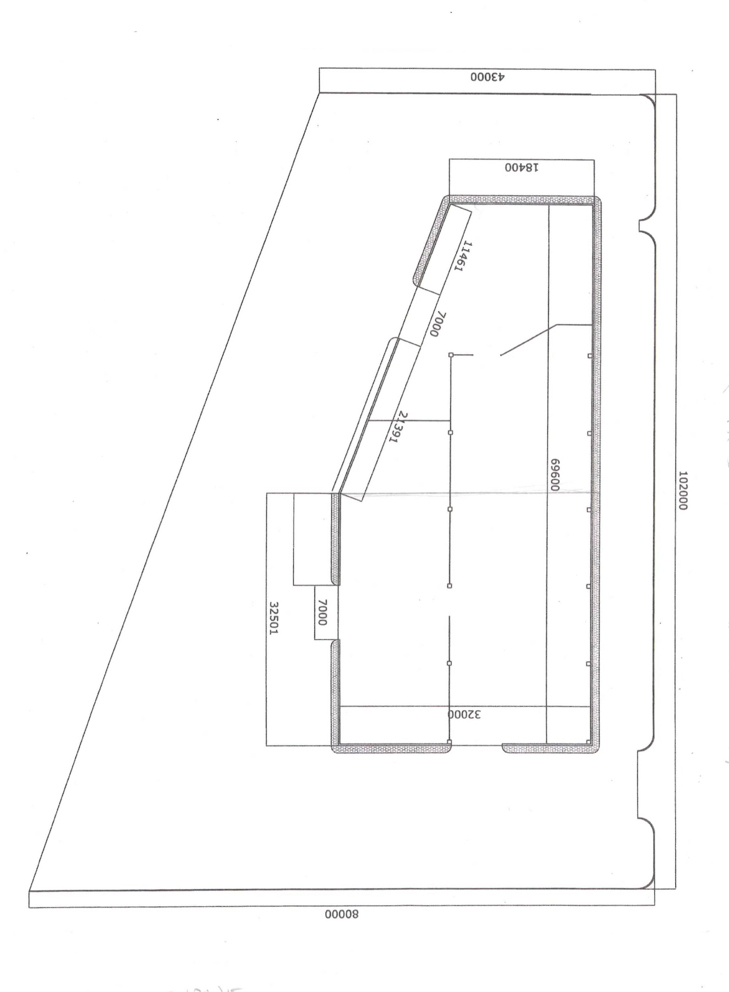 Planimetria 1/1 per rif. 5003D