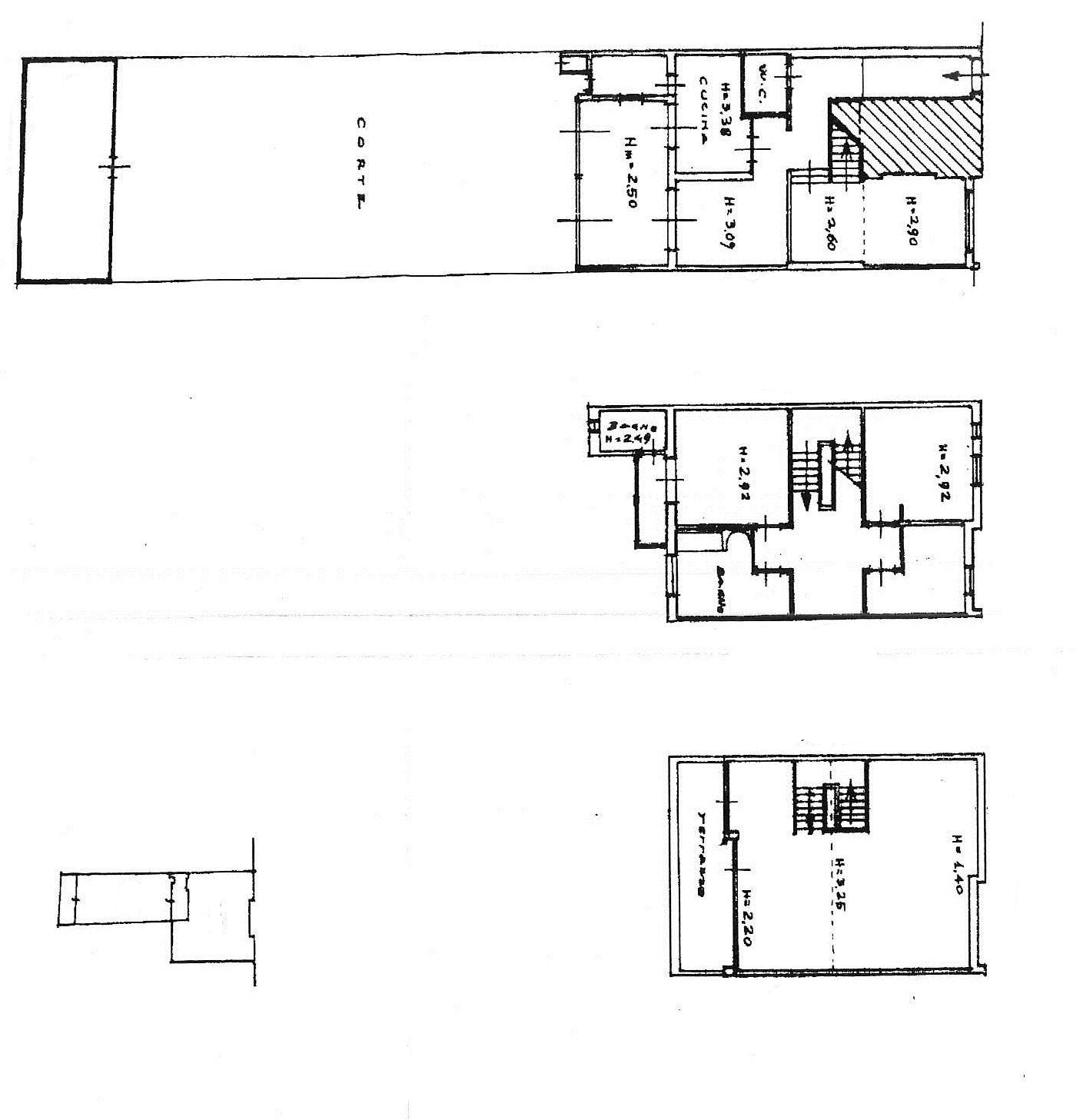 Planimetria 1/1 per rif. 1083F