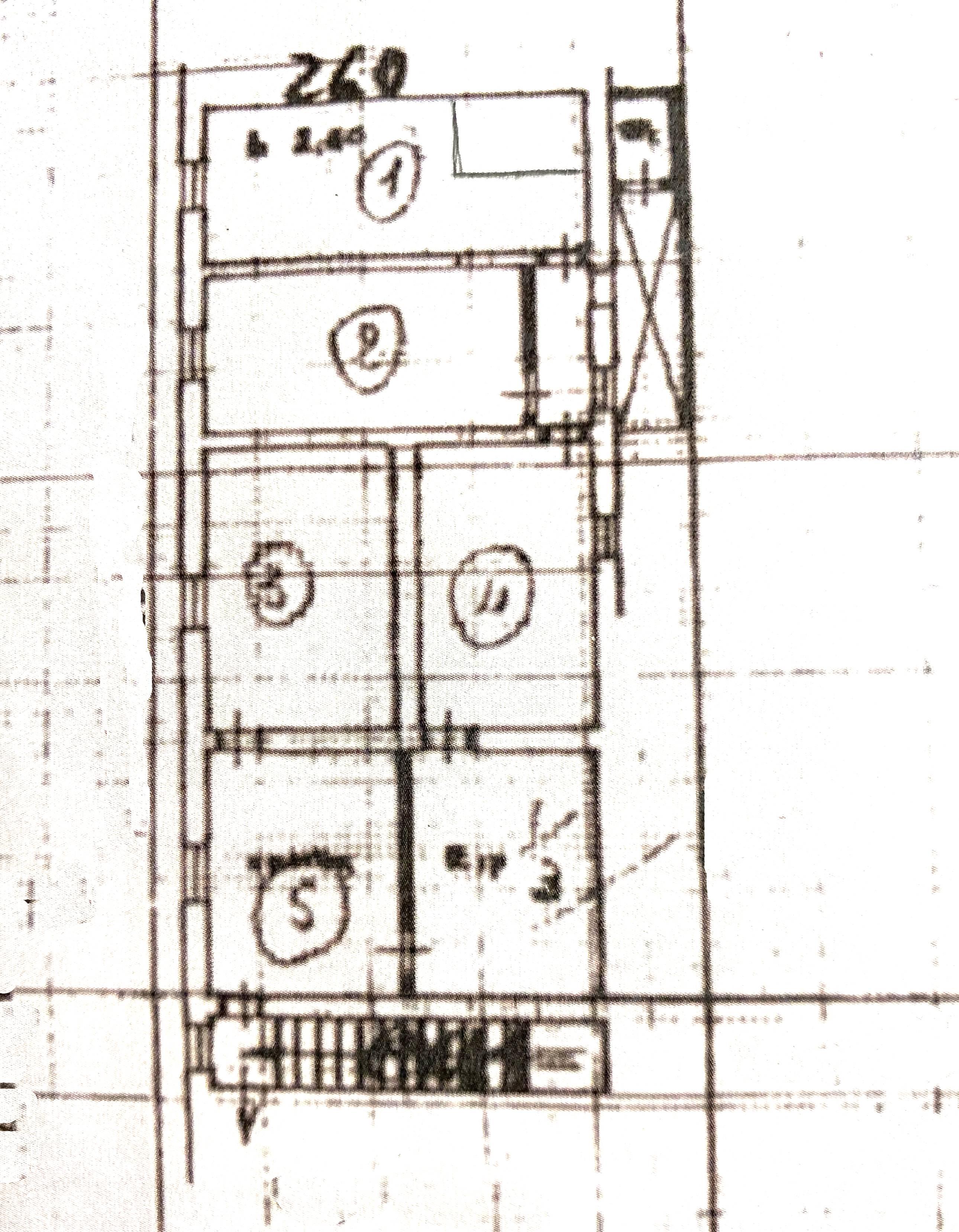 Planimetria 1/1 per rif. 1073D