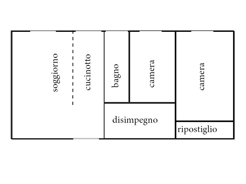 Planimetria 1/1 per rif. 1045D