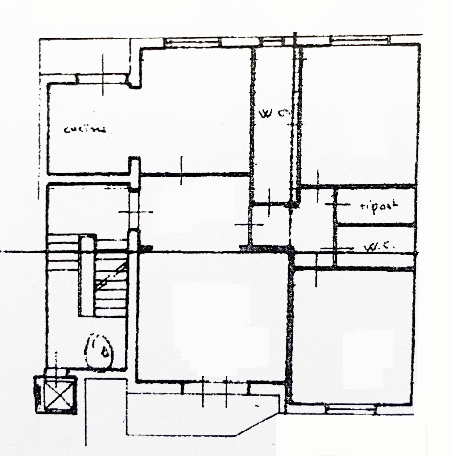 Planimetria 1/1 per rif. 1061D