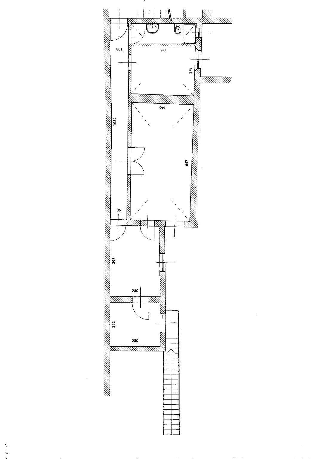 Planimetria 1/1 per rif. 404F