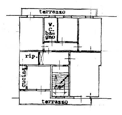 Planimetria 1/1 per rif. 1106D