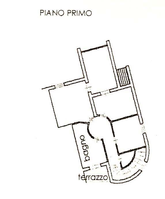 Planimetria 1/2 per rif. 1012D