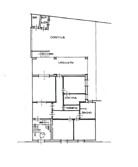 Planimetria 1/1 per rif. 418D