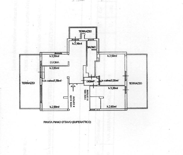 Planimetria 1/1 per rif. 1112D