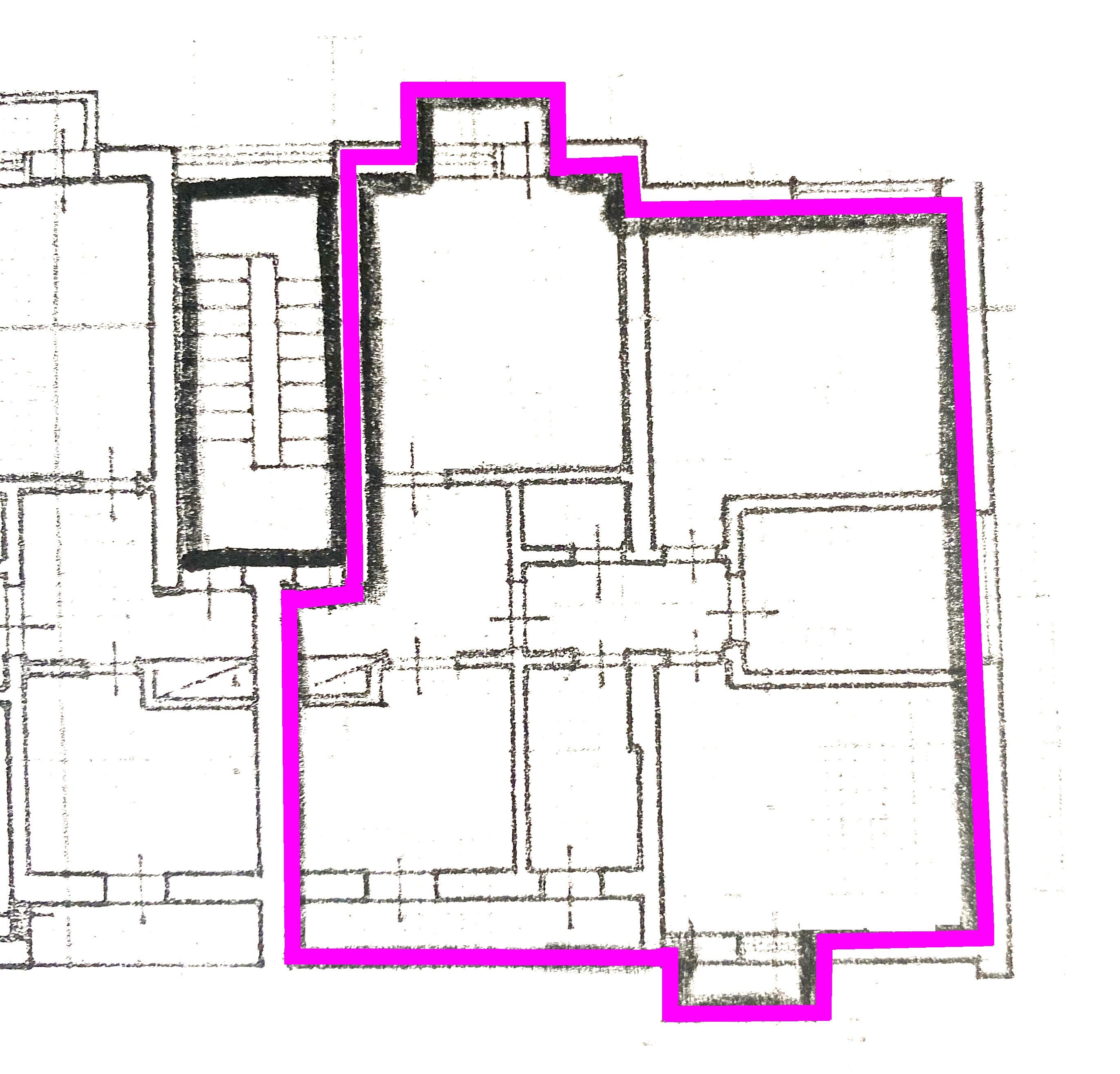 Planimetria 1/1 per rif. 1115D
