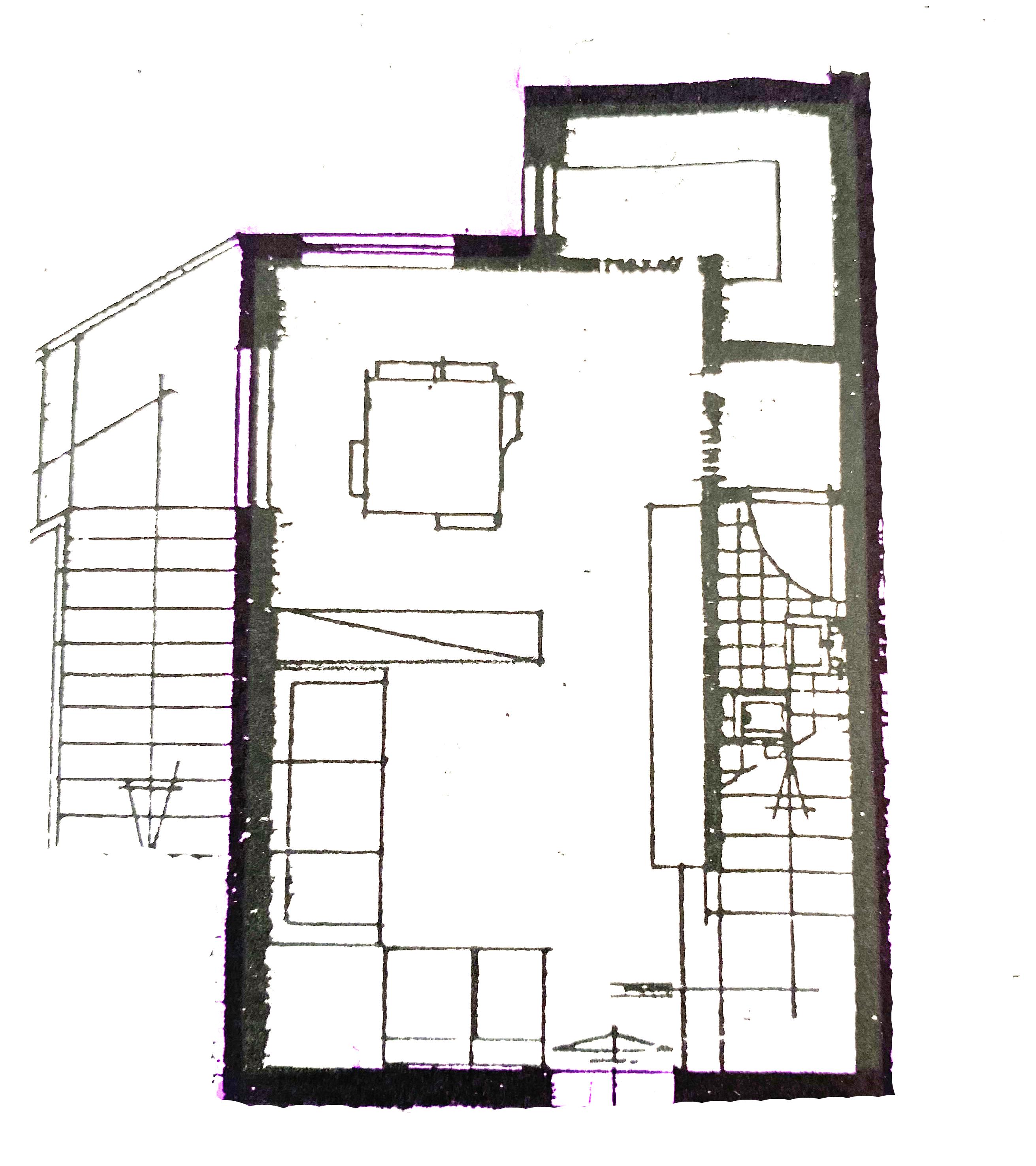 Planimetria 1/2 per rif. 1119D