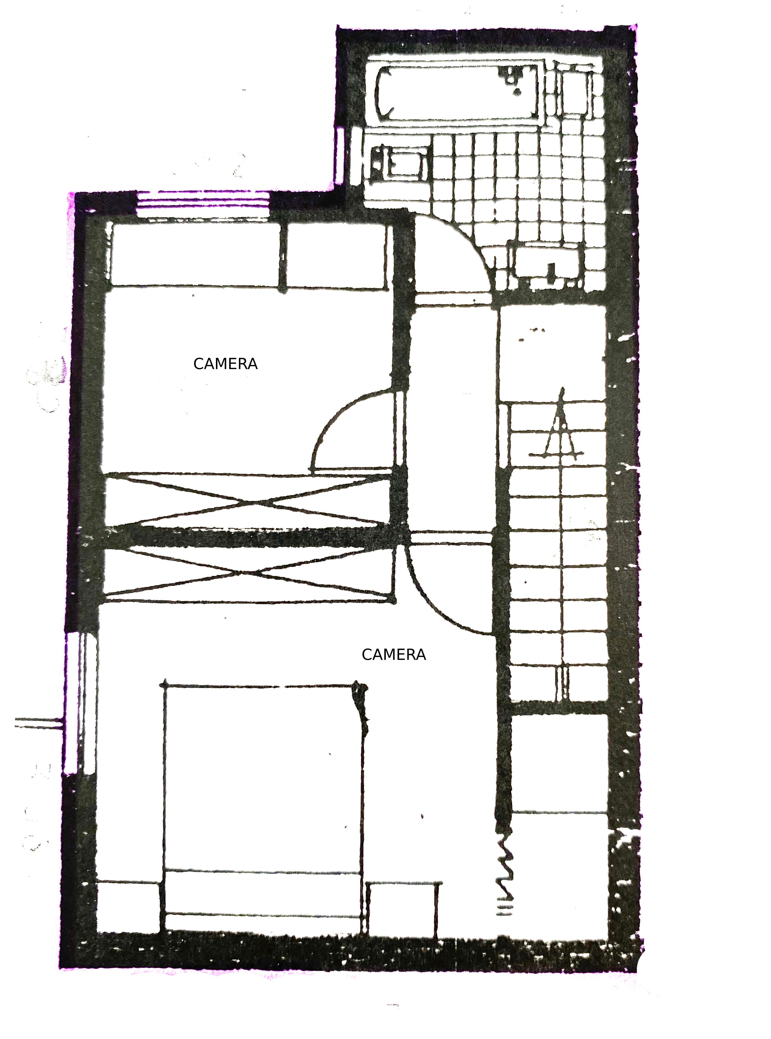 Planimetria 2/2 per rif. 1119D