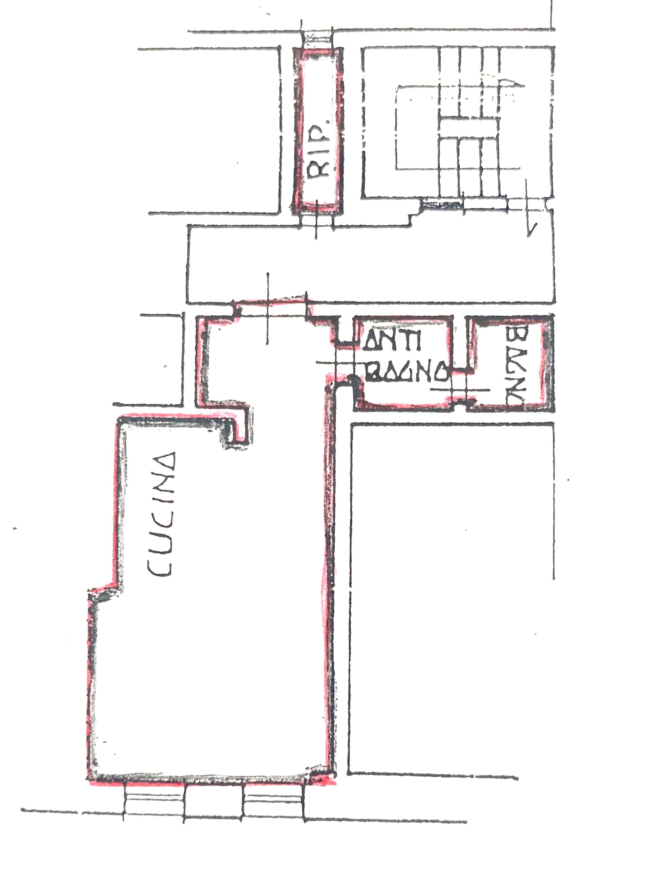 Planimetria 1/1 per rif. 1120D