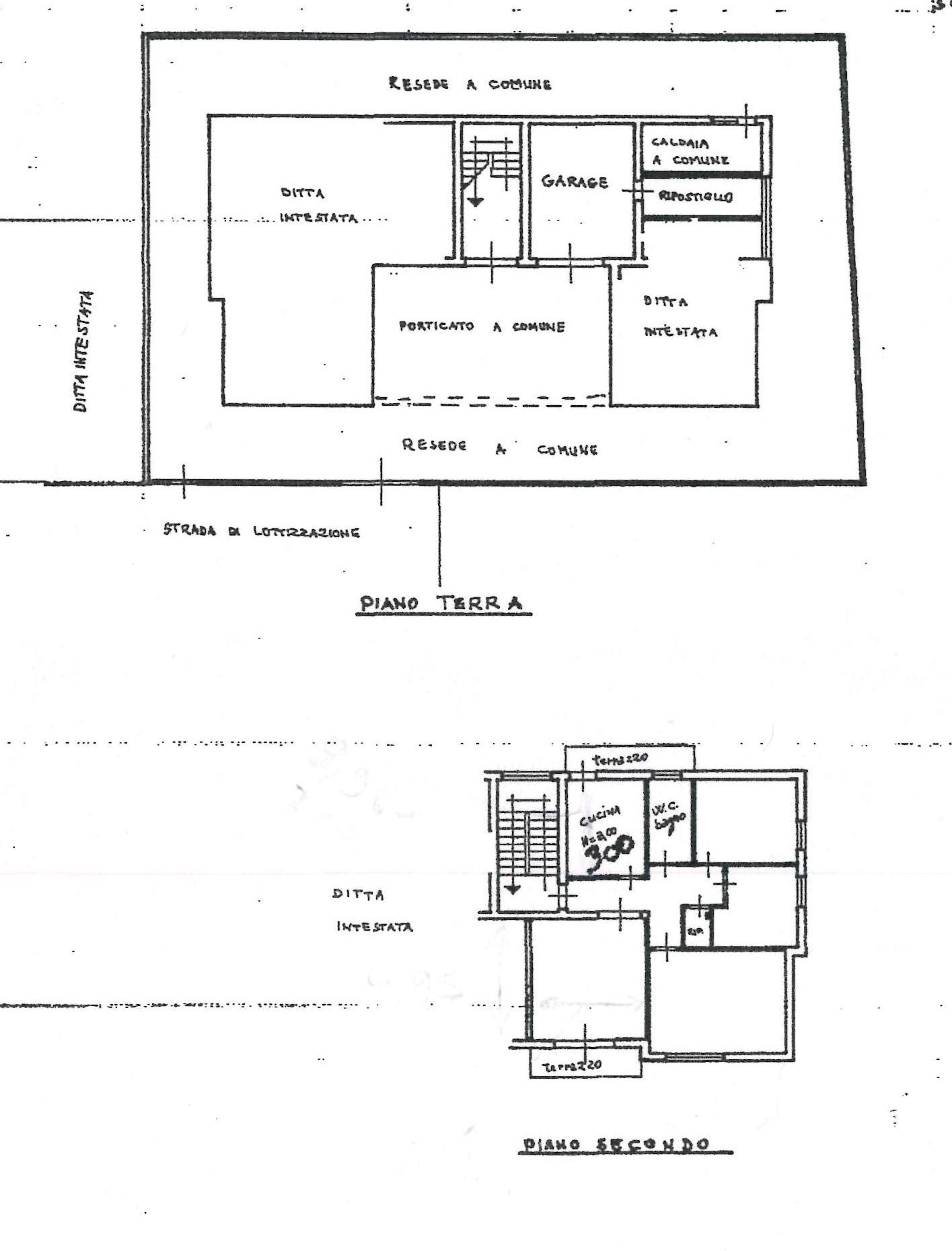 Planimetria 1/1 per rif. 1128D