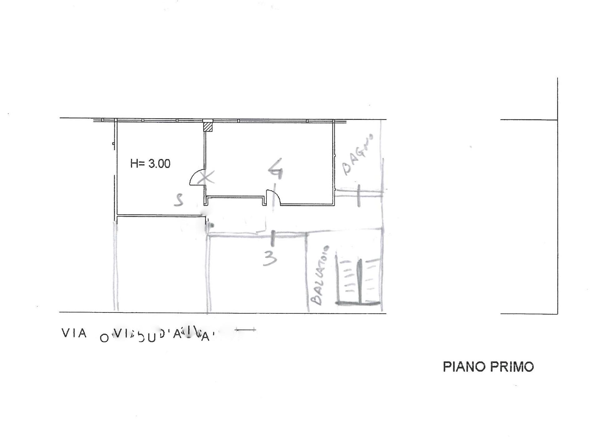 Planimetria 1/1 per rif. 417D