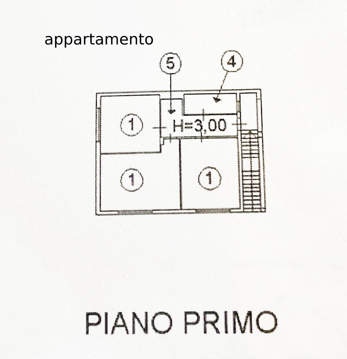 Planimetria 1/2 per rif. 5006D