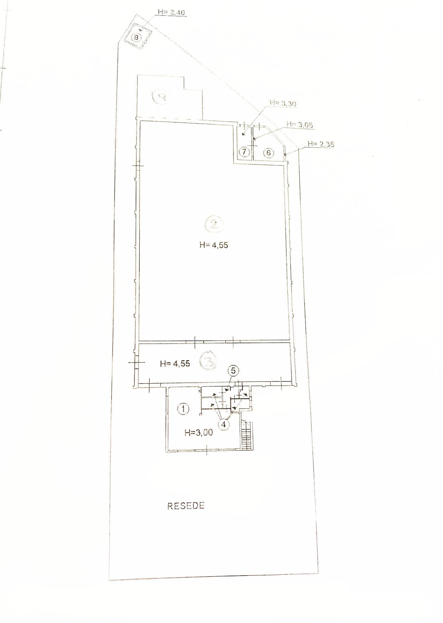 Planimetria 2/2 per rif. 5006D