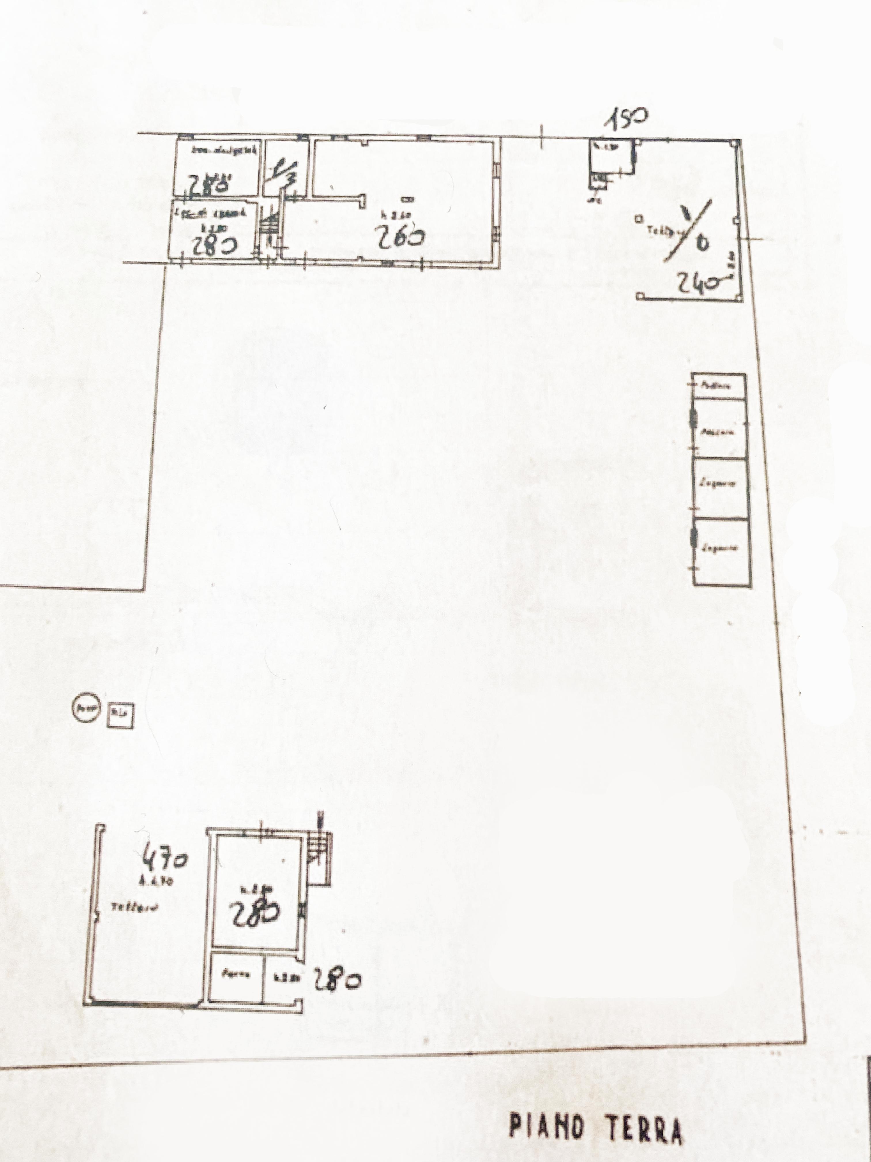 Planimetria 1/2 per rif. 1137C