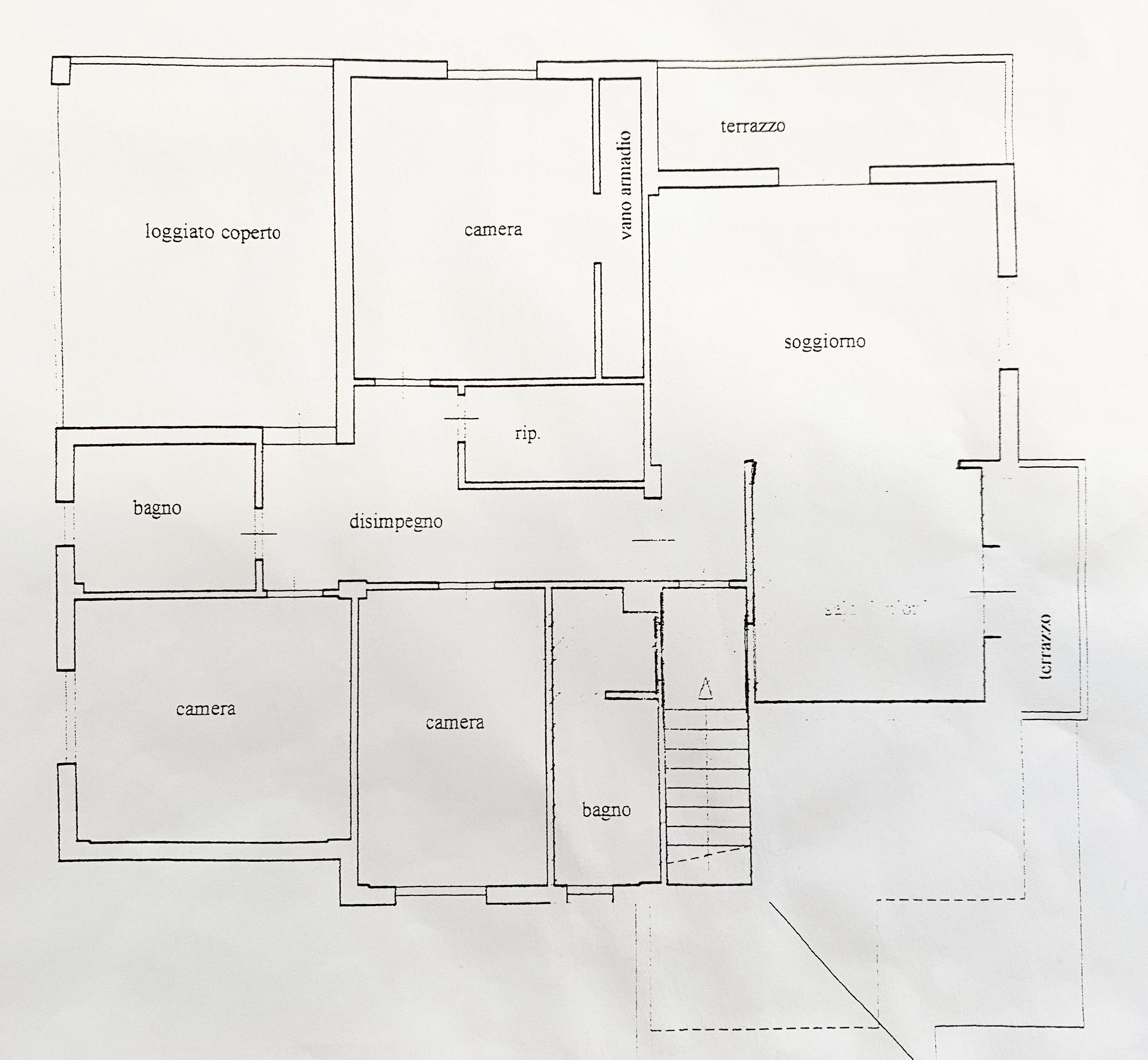 Planimetria 2/2 per rif. 5012D