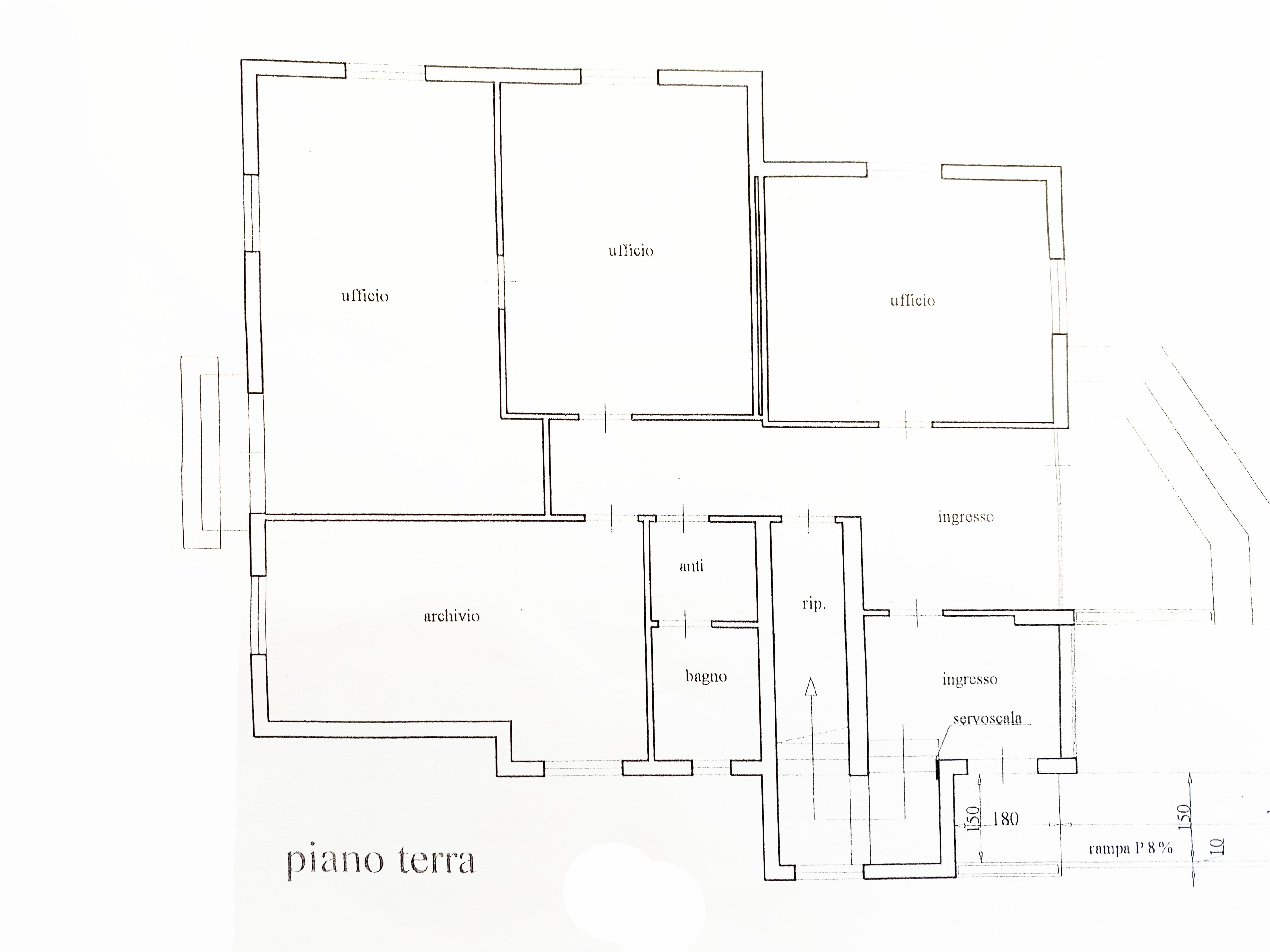 Planimetria 1/2 per rif. 5012D