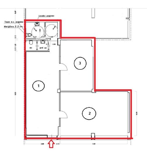 Planimetria 1/1 per rif. 5014D
