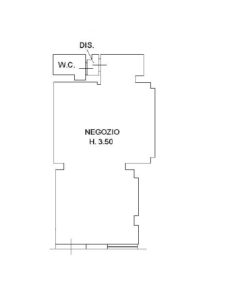 Planimetria 1/1 per rif. 5015D