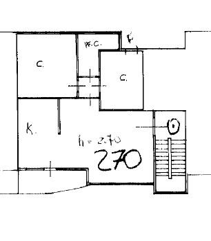 Planimetria 1/1 per rif. 163CC