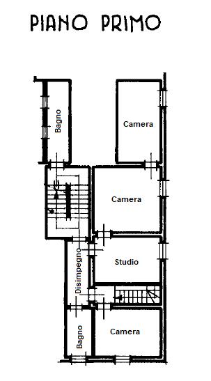 Planimetria 1/2 per rif. 1146F