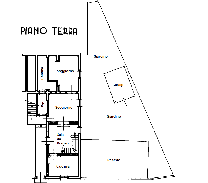 Planimetria 2/2 per rif. 1146F