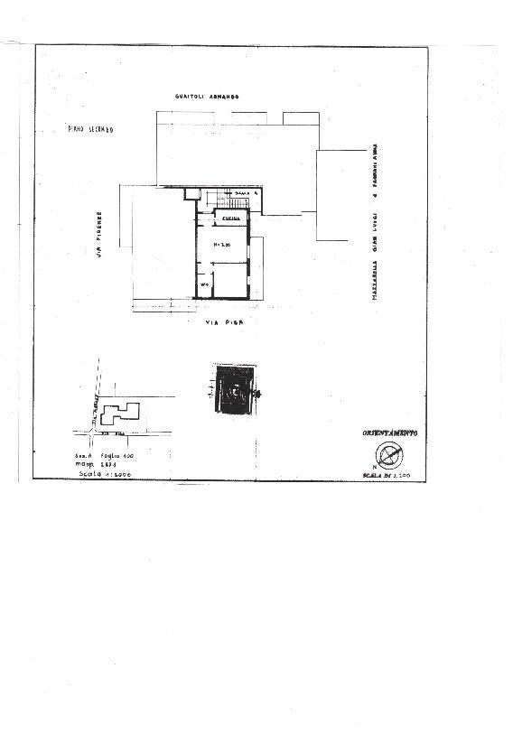 Planimetria 1/1 per rif. VM 201