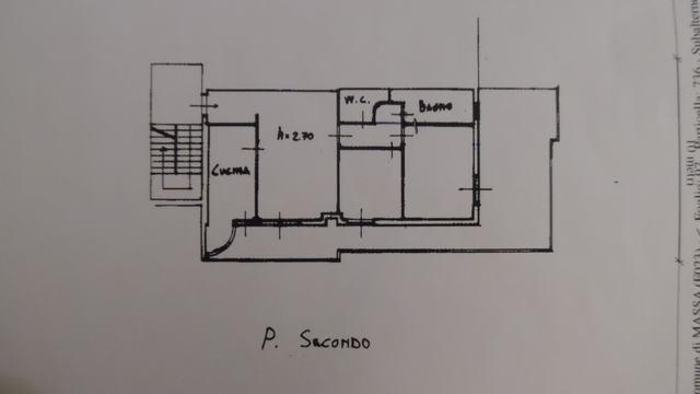 Planimetria 1/1 per rif. SE109