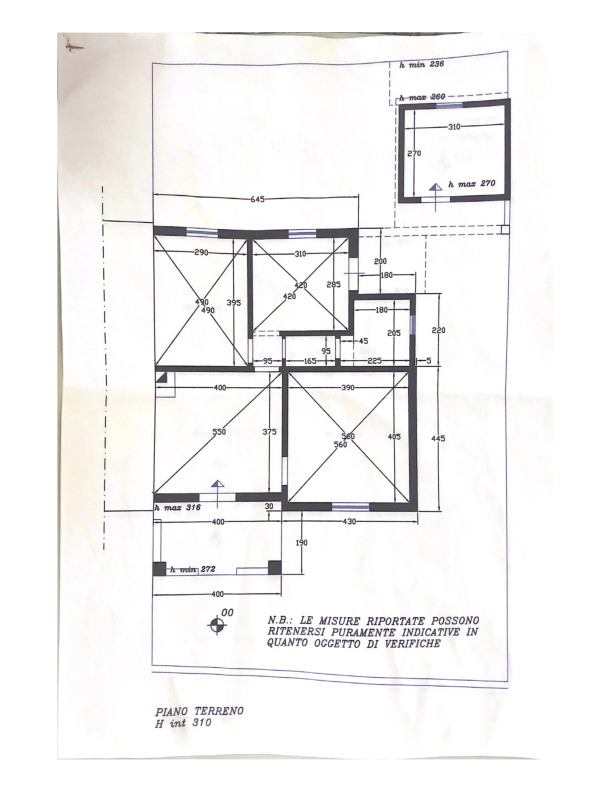 Planimetria 1/1 per rif. VT308