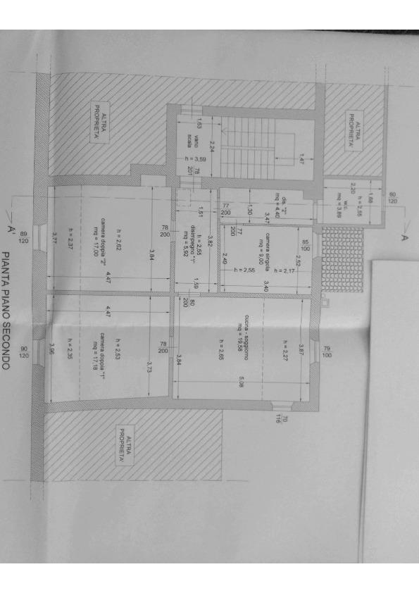 Planimetria 1/1 per rif. VA15