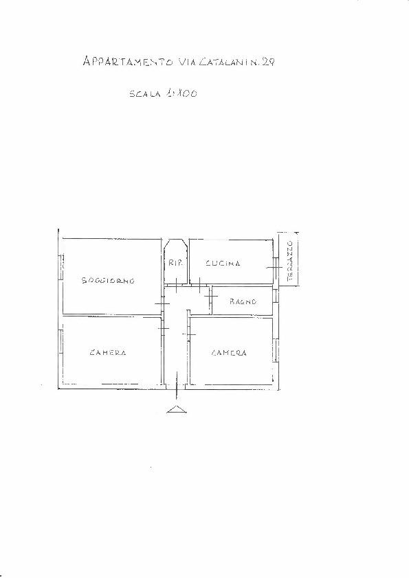 Planimetria 1/2 per rif. 106
