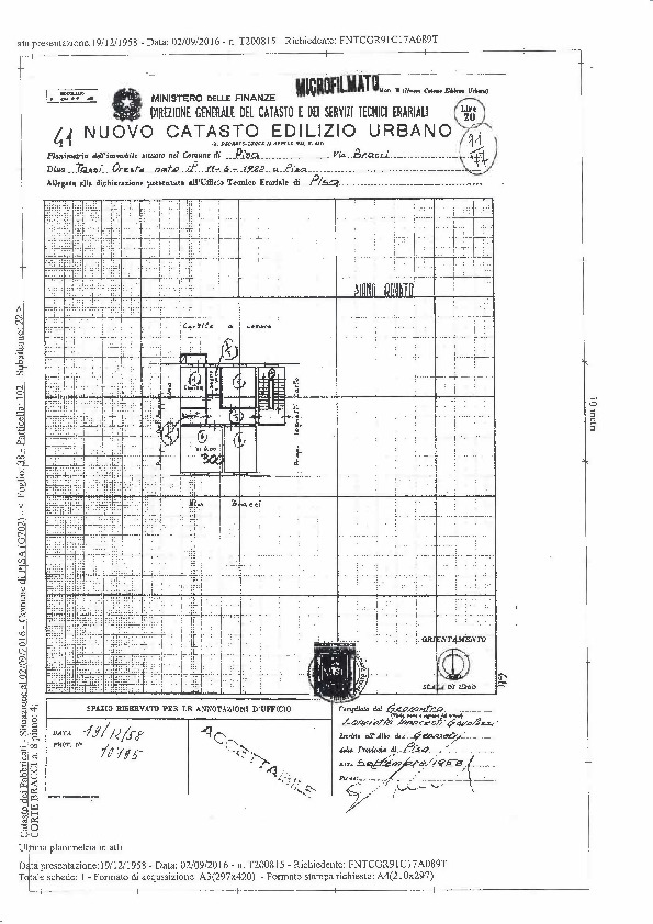 Planimetria 2/2 per rif. 106