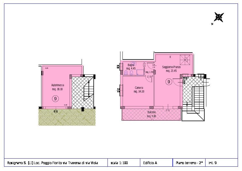Appartamento in vendita, rif. ROS/12 (Planimetria 9/12)